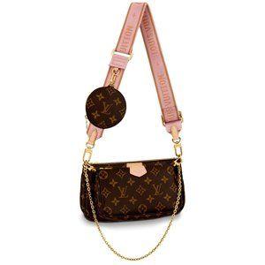 Louis Vuitton Multi Pochette Bags Pink NWT
